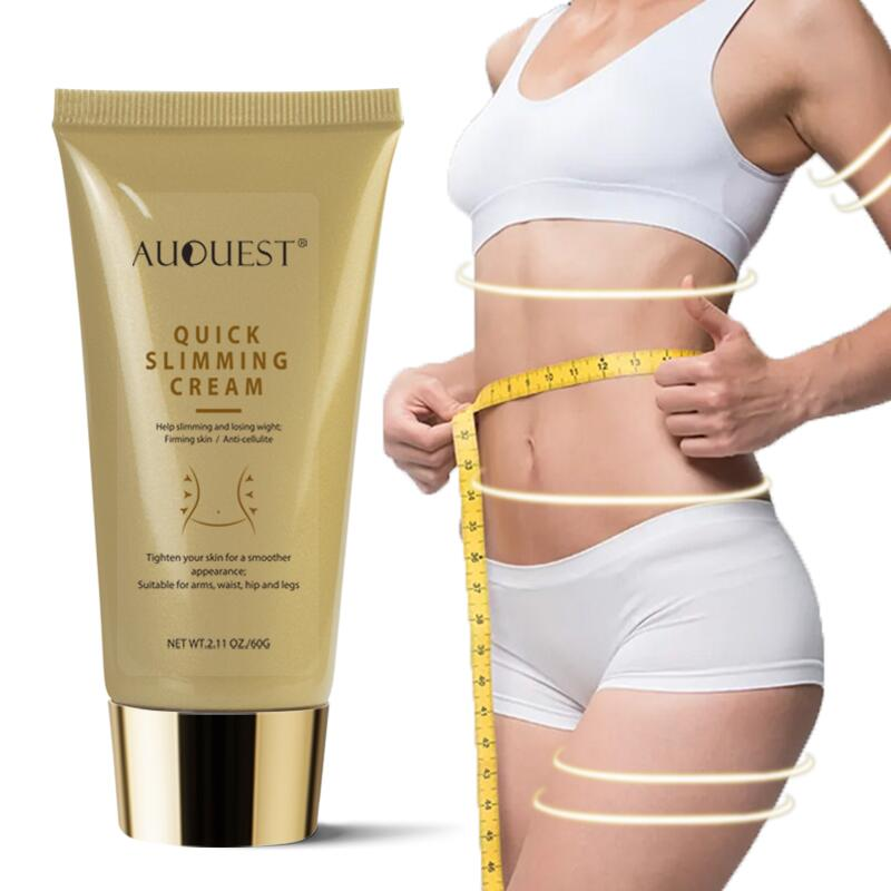 AUQUEST Slimming Product Nature Losing Weight Cellulite Remover Cream Skin Firming for Belly Slimming Fat Burning Body Care