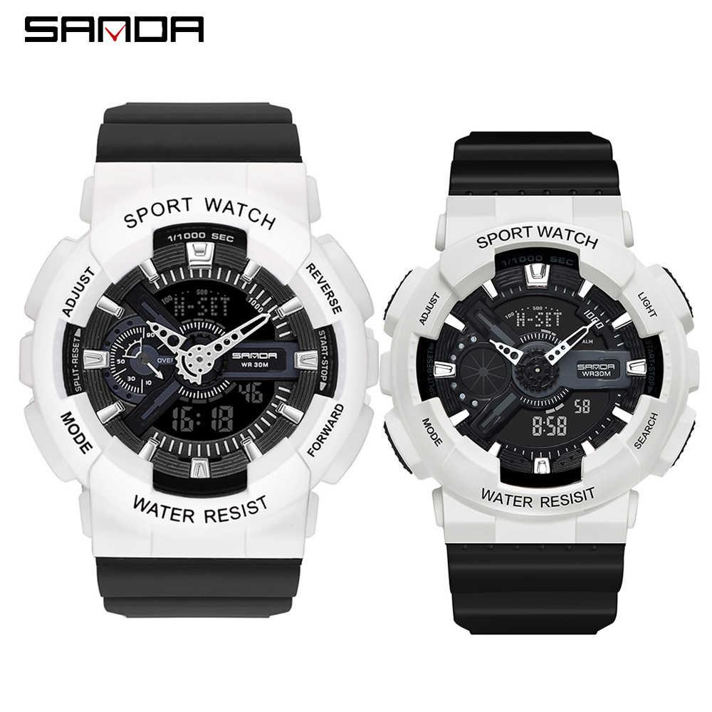 ใหม่ G สไตล์ทหารผู้ชาย MS นาฬิกาสปอร์ตนาฬิกา LED นาฬิกาดิจิตอลกันน้ำนาฬิกาคู่นาฬิกานาฬิกา relogios masculino