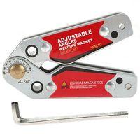 WM10 Adjustable Magnetic Neodymium Welding Positioner Locator Tools With Wrench Welding Fixed Fixture Welding Magnet Holder|Soldering Stations|Tools -