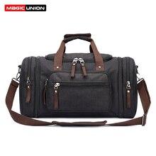 MAGIC UNION, мужская дорожная сумка для путешествий, сумка для сна, большая емкость, водостойкая модная Холщовая Сумка для переноски