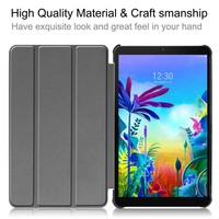 leather flip Case For LG G Pad 5 10.1 FHD LM-T600L PU Leather Flip Stand Cover Shell Shockproof Tablet Case For LG GPad 5 10.1 inch KS0469 (3)