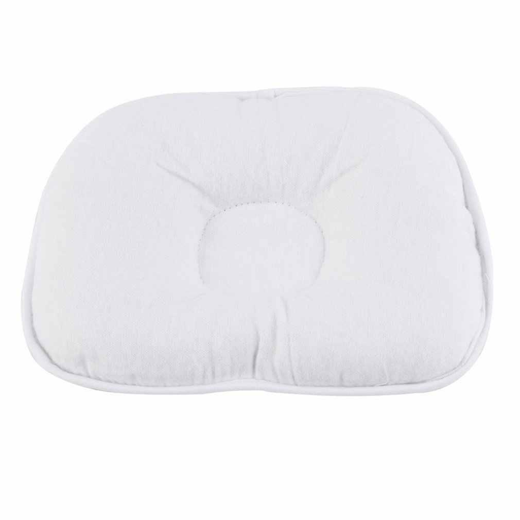 Atacado 10 pces/1 conjunto urso padrão travesseiro recém-nascido bebê suporte almofada evitar cabeça plana 100% superior bom