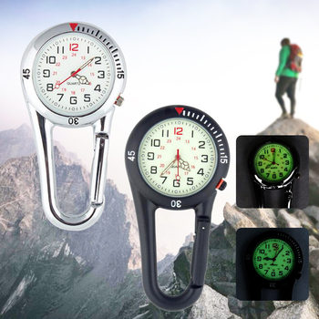 Sport Watch Women Men Outdoor Luminous Quartz Pocket Watch Vintage Portable Mountaineering Buckle Fob Watch Clock Relogio homme aidis brand girl boy watch women men student simple black white silicone strap watch outdoor luminous sport clock dames horloges
