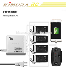 цена на 6 in 1 Battery Charging Hub Intelligent Battery Charger For DJI Mavic Air Drone