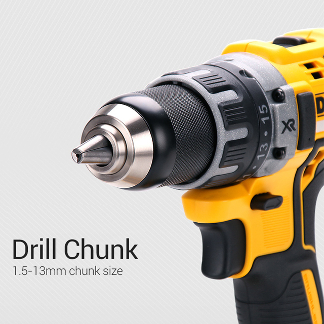 DEWALT Original 18V Lithium Battery DIY Power Driver Variable Speed Electric Screwdriver Impact Cordless Drill with LED Light 2