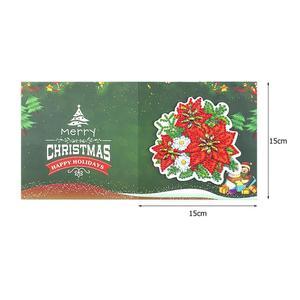 Алмазная живопись, поздравительные открытки, Мультяшные рождественские открытки на день рождения, 5D «сделай сам», Детская Праздничная вышивка, поздравительные открытки, подарок|Алмазная мозаика|   | АлиЭкспресс