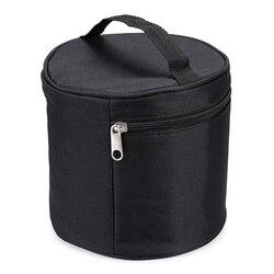 Wielofunkcyjna torba na marker Zipper brezentowa torba na długopis bezpieczne przechowywanie 80 Mark  czarny (bez przedziału w środku)