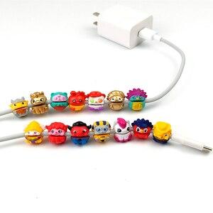 Image 3 - 10Pcs Mix shipmet Pen set Bite line toys shoe charms Shoe Decorations jibbitiz accesorios Headphone cord decoration  mini model