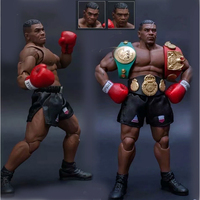 3 Head Face Storm Boxing Boxer Champion Mike Tyson Action Figure Collectible For Kids Toys Giftsl