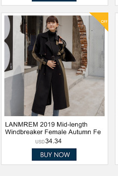 LANMREM LANMREM 2020 new summer fashion women dress Loose large size suit coat casual turn-down collar double breasted pleated