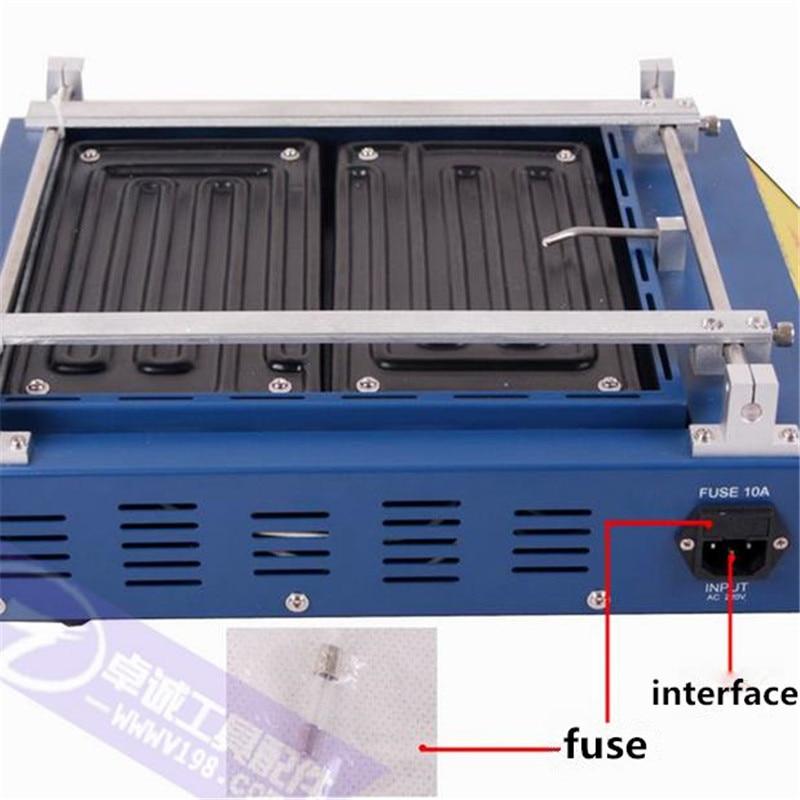 Преднагреватель для печатной платы Puhui T8280, 220 В или 110 В, инфракрасная нагревательная пластина, печь для подогрева, ремонт припоя по Цельсию, ...