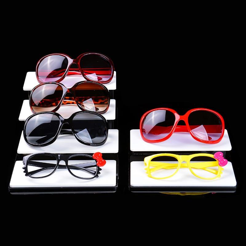 Acrylic Display Eyeglasses Fixing Device Sun Glasses Decoration Nearsighted Glasses Sunglasses Storage Shelf Necklace Jewelry Sh