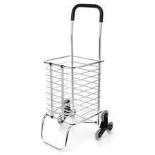 6 roues chariots chariot Aluminium pliable bagages 6 roues pliant panier remorque