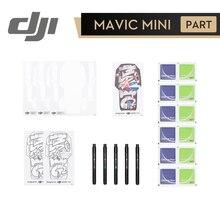 DJI Mavic مجموعة صغيرة الإبداعية DJI الأصلي لتقوم بها بنفسك اكسسوارات عدة ل DJI Mavic Mini يشمل فارغة قذيفة ملصقات علامات ملونة