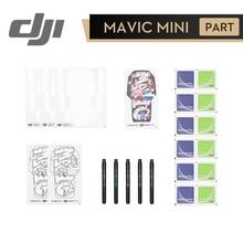 DJI Mini Kit creativo para manualidades, accesorios originales para DJI Mavic Mini, Incluye pegatinas de concha en blanco, marcadores coloridos