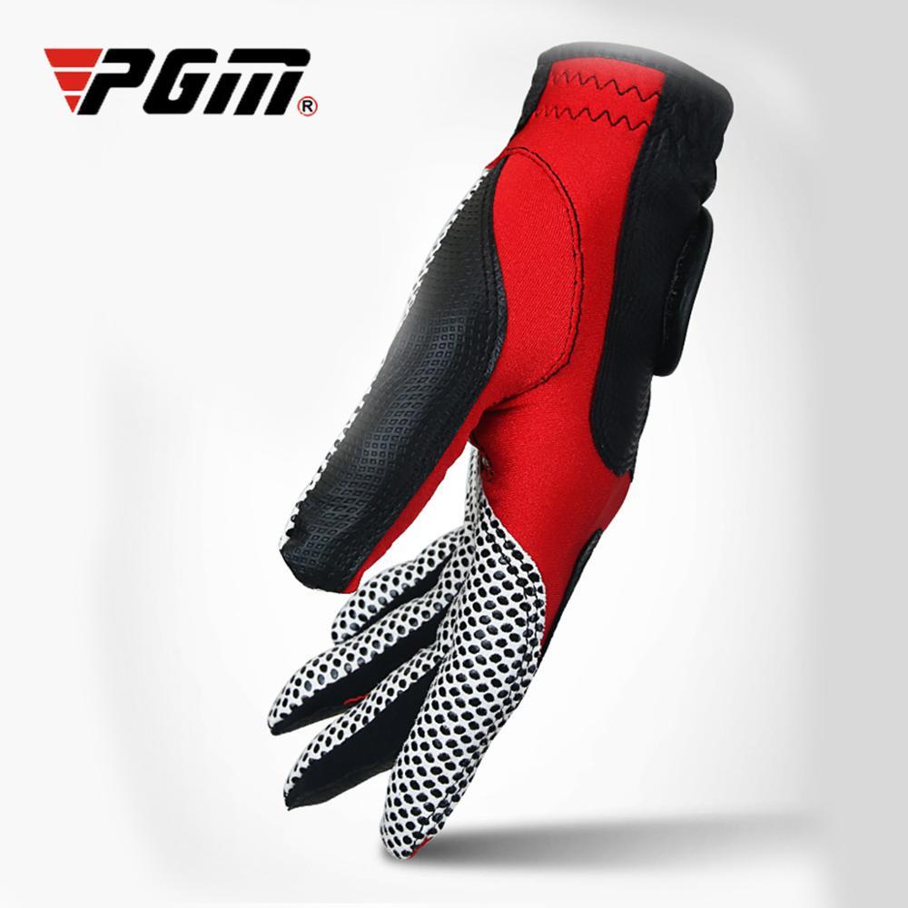 PGM Golf Gloves Left Hand Wear Single Glove Men's Winter Glove Fiber Cloth Anti-slip Breathable Golf Gloves