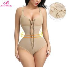 Lover Beauty Slimming Underwear Bodysuit Body Shaper Women Waist Trainer Shapewear Postpartum Recovery Butt Lifter Panties