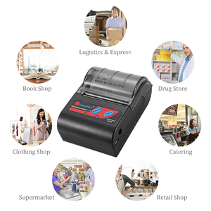 Image 5 - Portable Mini Bluetooth Printer Wireless Thermal Receipt Ticket Printer For Mobile Phone 58mm Bill Machine For Store