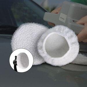 Image 3 - 8 6 inç parlatma ve ağda seti 8 takım araba mikrofiber peluş ağda seti araba yıkama güzellik araçları