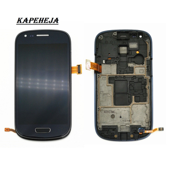 4.0Super AMOLED LCD Display For Samsung Galaxy S3 mini GT-i8190 i8195 i8200 LCD Display Touch Screen Digitizer Assembly for samsung galaxy s3 tft lcd display lcd touch screen digitizer assembly with frame for samsung galaxy s3 i9300 i9300i i9308i