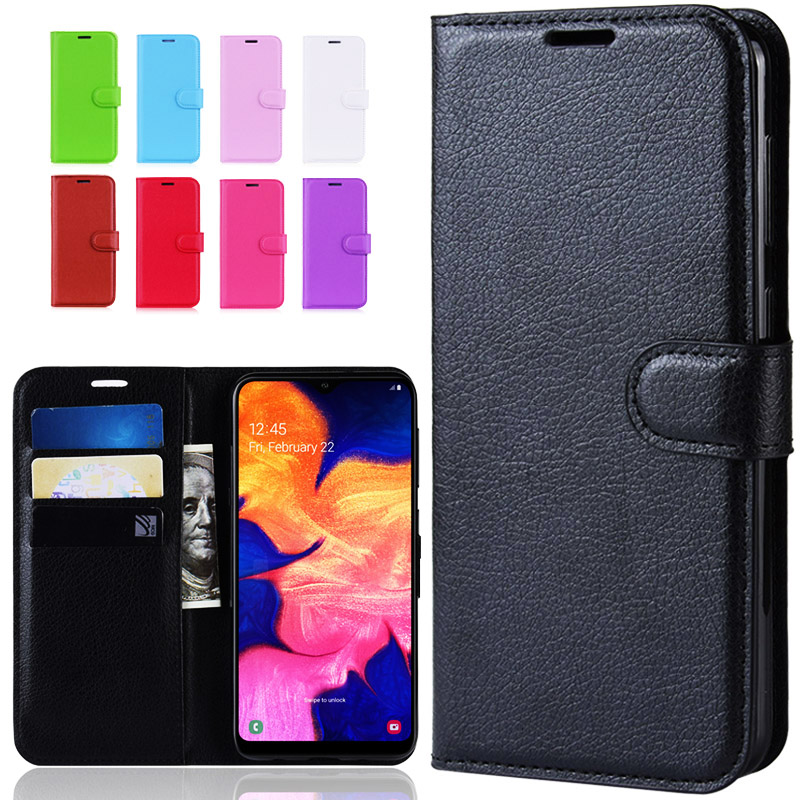 Luxury Wallet Flip leather <font><b>case</b></font> on For <font><b>Samsung</b></font> <font><b>A10</b></font> <font><b>Case</b></font> back phone <font><b>case</b></font> For <font><b>Samsung</b></font> Galaxy <font><b>A10</b></font> A 10 SM-A105F A105 A105F Cover image