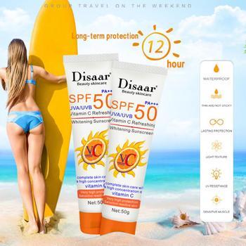 50ml Facial Body Skin UV Essence Sunscreen SPF 50+/60+ Anti Oxidant UVA/UVB Sunblock Cream Oil-control Moisturizing TSLM1 1