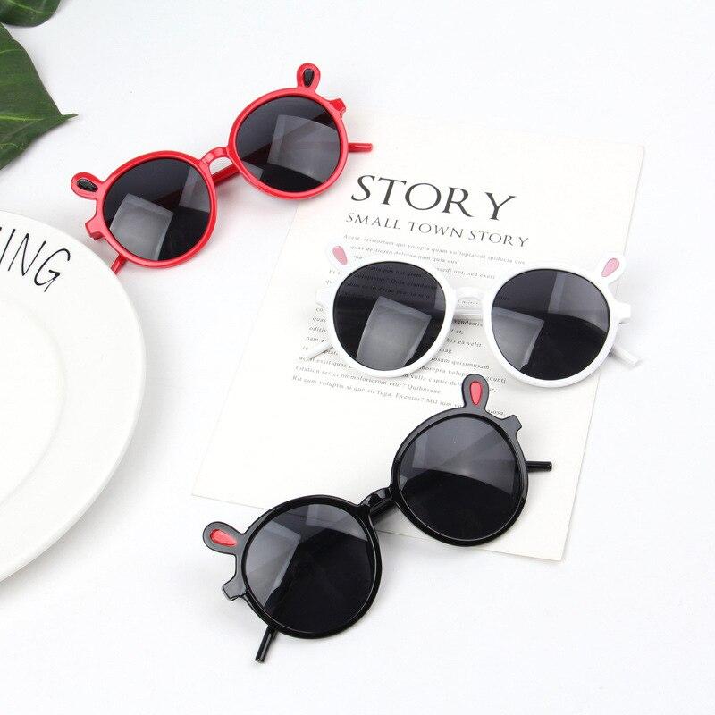 Zilead Baby Cute Rabbit Ears Sunglasses Brand Designer Kids Sun Glasses Eyewear Eyeglasses UV400 Oculos For Boys&Girls Shades