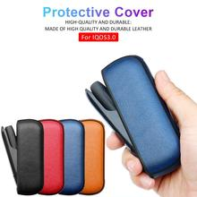 2019 Newest Portable PU Leather Carrying Case For IQOS 3.0 E Cigarette For IQOS 3 Full Protective Case Cover Sleeve 2 in 1 accurately designed protective pu leather cover portable carrying bag for 15 6 acer swift 3 sf315 51g series laptop