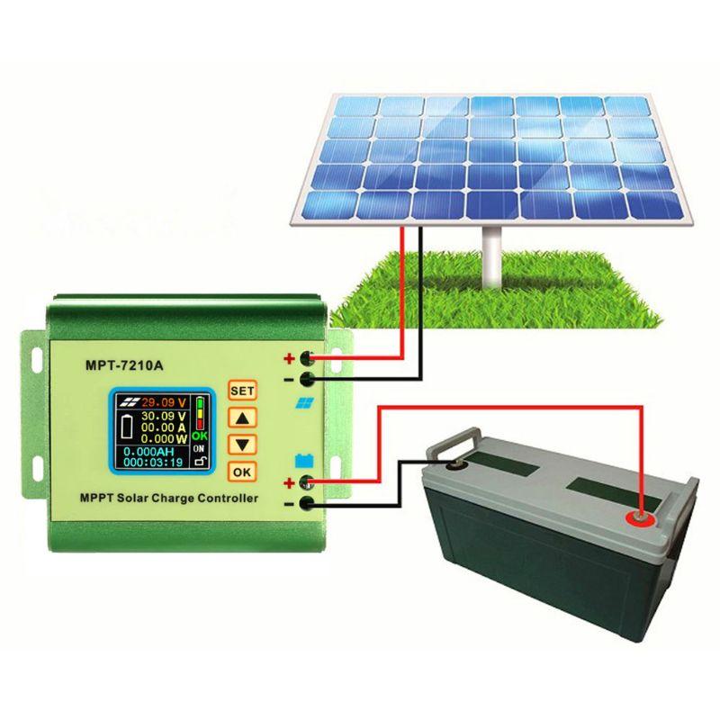 controlador de carga solar mppt para a bateria de litio 24 v 36 v 48 v