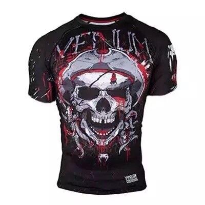 T Shirt MMATRUNKS MENS  Sublimated Print Bjj Boxing Rashguard Jiu Jitsu Gi Rash Guard Breathable Muay Thai Mma Sportwear