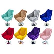 1/12 mobília miniatura da poltrona da casa de bonecas, mini cadeira acessórios da decoração da sala de visitas jogam brinquedos para crianças