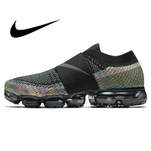 Original Nike Air VaporMax Moc Rainbow Cushion Men's Running Shoes