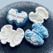 Пластиковая форма mooncake 50/65 г резак для печенья с 2 штампами