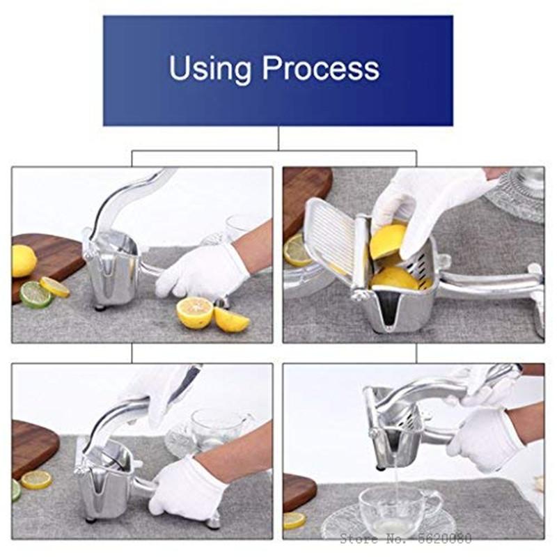 Multifunctional Manual Orange juicer lemon pomegranate juice squeezer pressure Fruit juicer Press Household