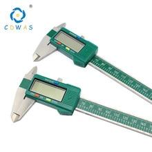 Affichage numérique en acier inoxydable étrier 0-150mm 0.01 haute précision LCD électronique pied à coulisse étanche outils de mesure