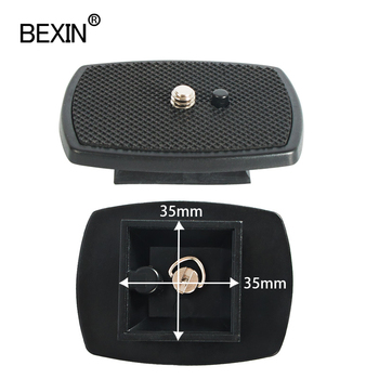 BEXIN small tripod plate quick release dslr stand mount camera for Yunteng vct668 st666 690