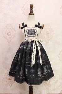 Image 3 - Doce coruja impresso lolita casual jsk midi vestido por alice girl stock estoque limitado