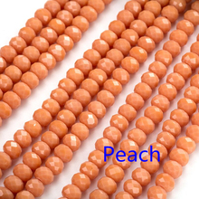 4mm/6mm/8mm  140/95/68pcs  Beads for jewelry making Austria faceted Crystal Glass Beads Loose Spacer Round Beads for Jewelry цены