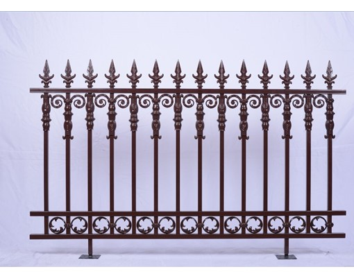 New Style Powder Coated Metal Aluminum Balcony Railing Fence Grill Design