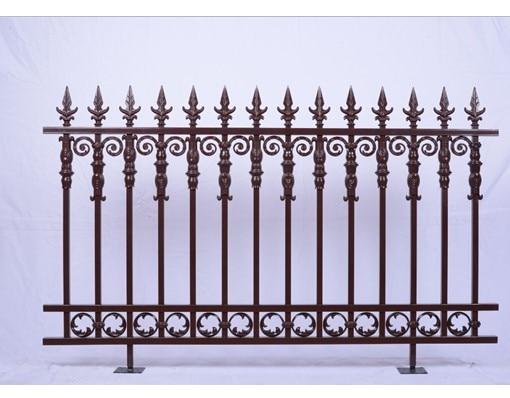 New Style Powder Coated Metal Aluminum Balcony Railing Fence Grill Design