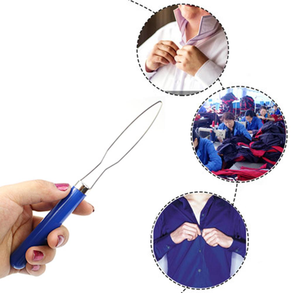 Clothes Shirts Pull One Hand Zipper Puller Helper Button Hook Assist Device Tool