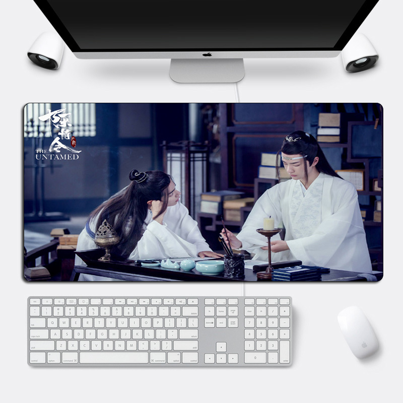 DIY Custom The Untamed Mouse Pad Xiao Zhan Wang Yibo Large Gaming Mousepad Locking Edge 60x30cm Cool Durable Computer Desk Mat