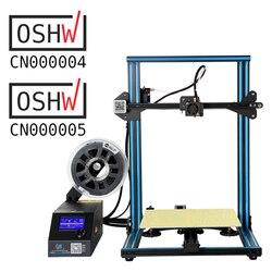 CREALITY 3D CR-10S CR-10 S4 CR-10 S5 CR-10 opcional, Dua Z Rod FilamentDetect reinicio apagado opcional 3D impresora DIY Kit
