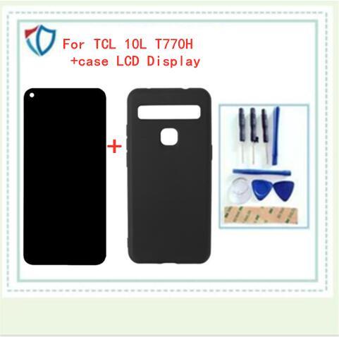 Оригинальный Новый ЖК-дисплей для TCL 10L T770H + сенсорный экран + чехол дигитайзер в сборе