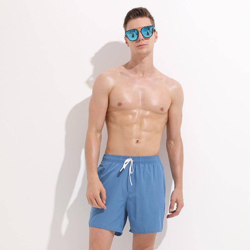 Sbart Men Boxer Lining-Beach Shorts Quick-Dry Seaside Drifting Swimming Trunks Men's Hot Springs Pants