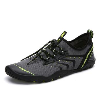 TaoBo różowe buty trekkingowe kobiety Aqua letnie buty do wody mężczyźni oddychające klapki plażowe boso mężczyźni skarpety nurkowe Tenis Masculino tanie i dobre opinie LEOSOXS Dobrze pasuje do rozmiaru wybierz swój normalny rozmiar Spring2019 elastyczna opaska Początkujący ANTYPOŚLIZGOWE