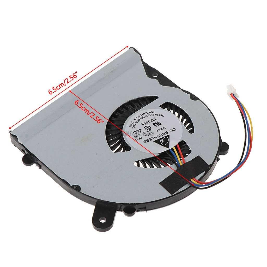 Notebook CPU Cooling Fan DC Cooler Radiator untuk ASUS S400 S500 S500C S500CA X502