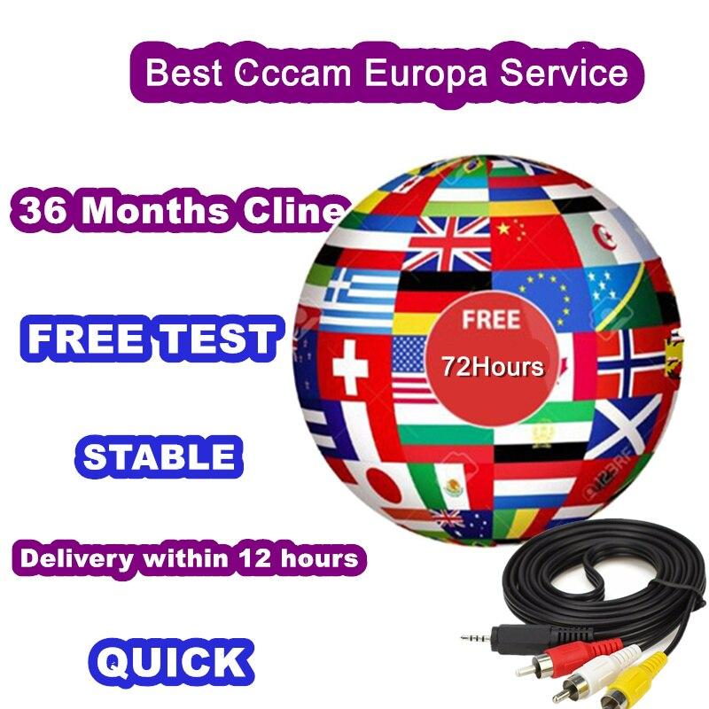 Oscam C-lines Spain Cccam Europa Poland Ccccam Europe Italy Czech France Ccam Egygold Server For DVB S2 Enigma2 4k H9s Receptor