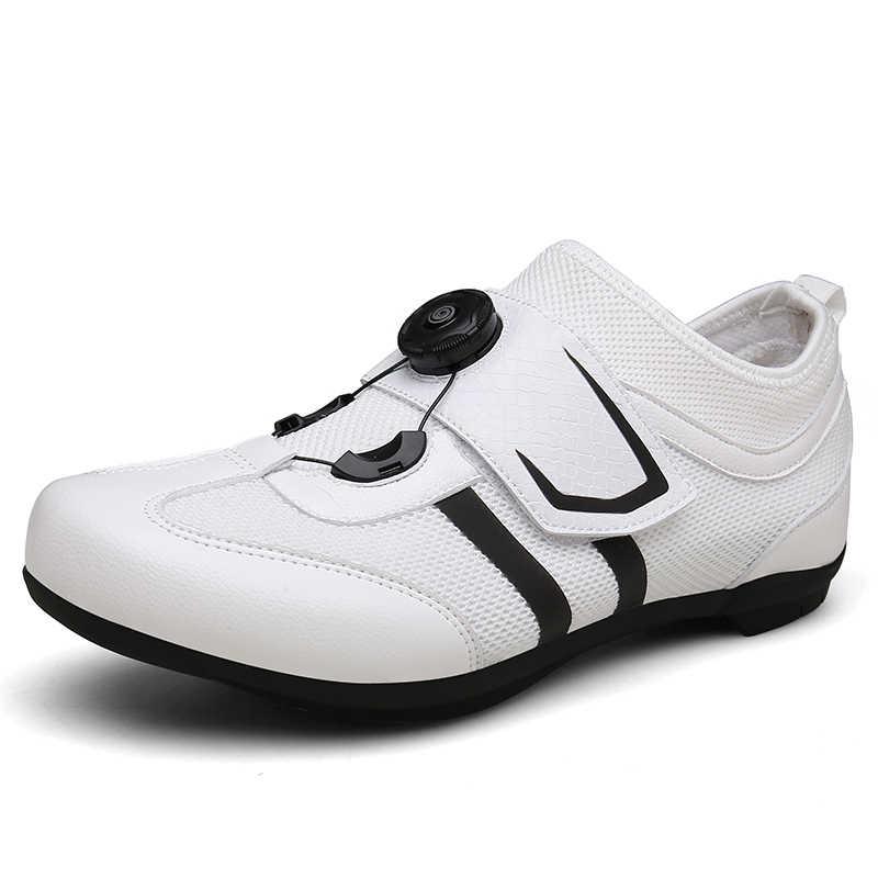Mannen Racefiets Fiets Schoenen Anti-slip Ademend Fietsschoenen Triathlon Atletische Sportschoenen Zapatos bicicleta