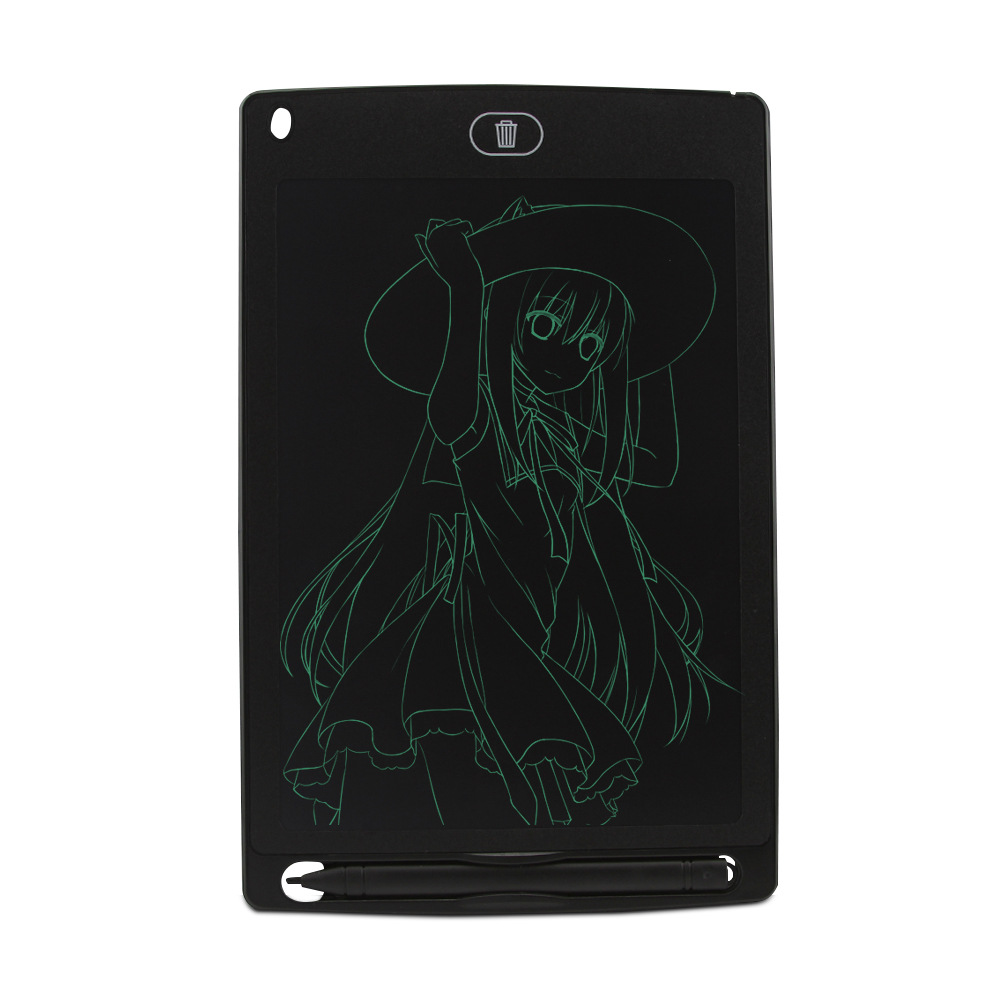 New Products 8.5-Inch LCD Tablet With Lock Key Children Graphics Tablet LCD Light Small Blackboard Wechat Business Hot Selling